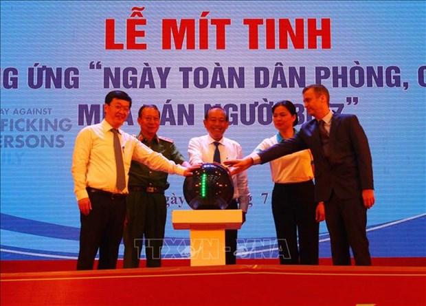 越南承诺彻底根除人口贩卖现象 hinh anh 1