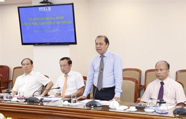 提高越通社与越南驻外机构的对外宣传工作质效 hinh anh 3
