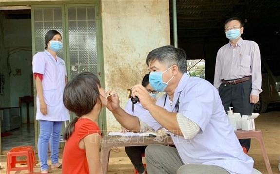 越南嘉莱省新增一例白喉病例 hinh anh 1