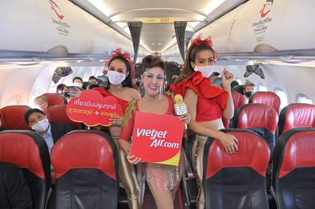 越捷航空公司曼谷-孔敬航线开通 自8月1日推出5泰铢起的特价机票 hinh anh 2