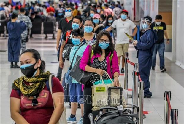 菲律宾经济因新冠肺炎疫情影响缓慢复苏 hinh anh 1