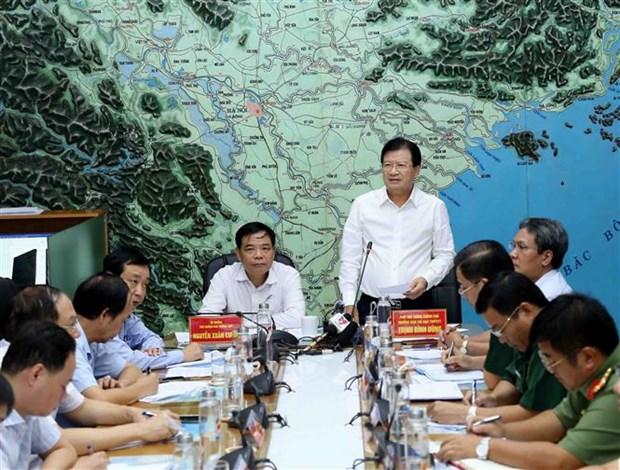热带低压发展为今年第二号台风 越南政府副总理要求主动采取应对措施 hinh anh 2