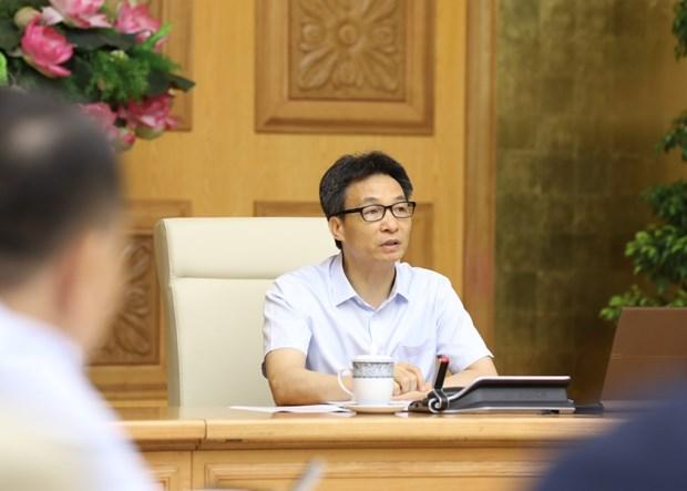 武德澹副总理:严厉惩处不按防疫规定进行健康申报和接受隔离的行为 hinh anh 1