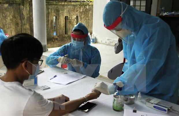 3日下午越南新增21例新冠肺炎确诊病例 hinh anh 1