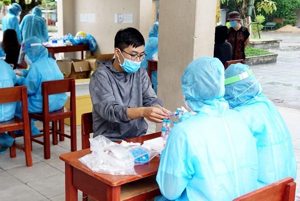 新加坡医院与岘港市分享抗击新冠肺炎疫情经验 hinh anh 1
