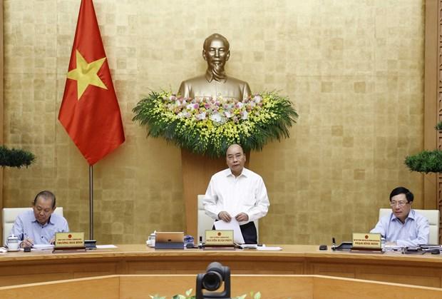 阮春福总理:疫情背景下尽最大努力保持经济发展的良好势头 hinh anh 1