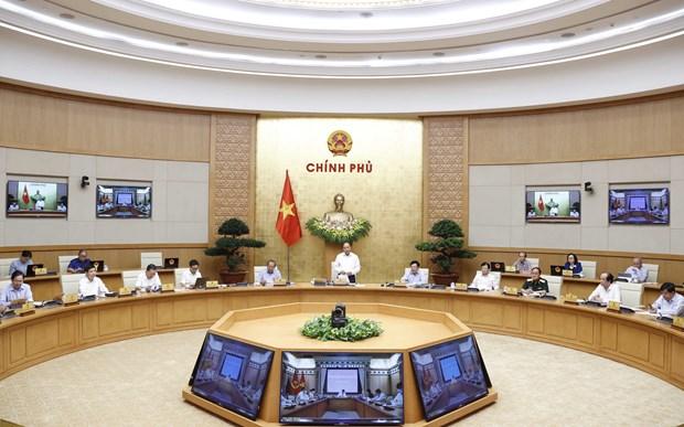 阮春福总理:疫情背景下尽最大努力保持经济发展的良好势头 hinh anh 2