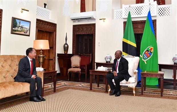 越南与坦桑尼亚友好合作关系不断深入发展 hinh anh 2