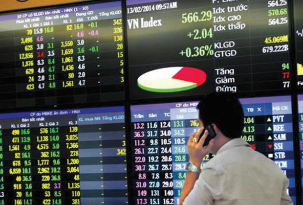 8月5日越南股市保持上涨趋势 hinh anh 1