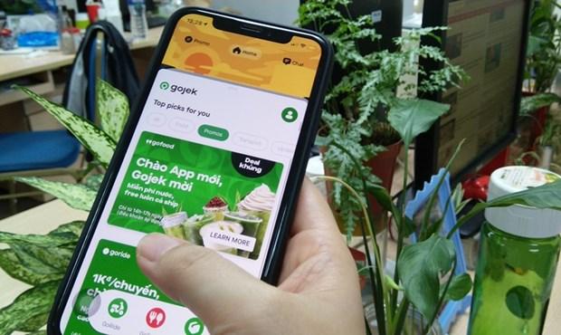 印尼GoJek在越南推出打车应用Gojek hinh anh 1