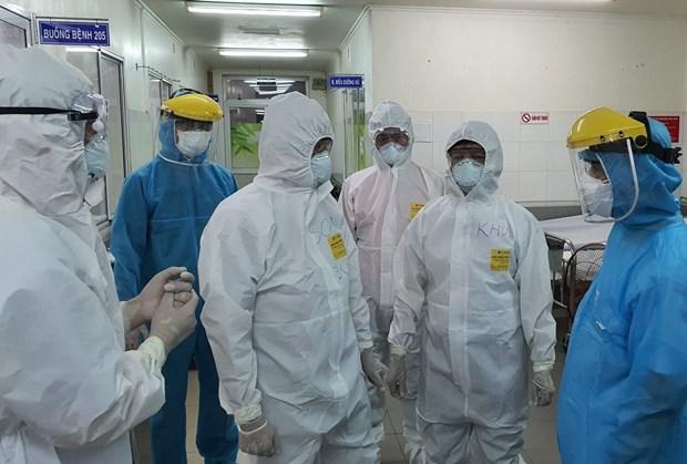 新增两例新冠肺炎确诊病例与岘港医院有关 hinh anh 1