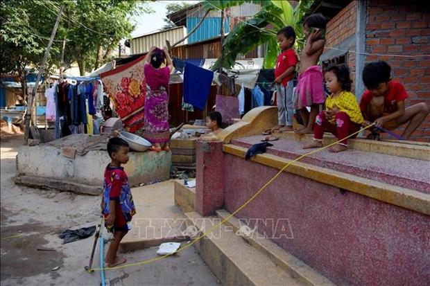 新冠肺炎疫情:联合国对柬埔寨的儿童不良营养率上升表示担忧 hinh anh 1