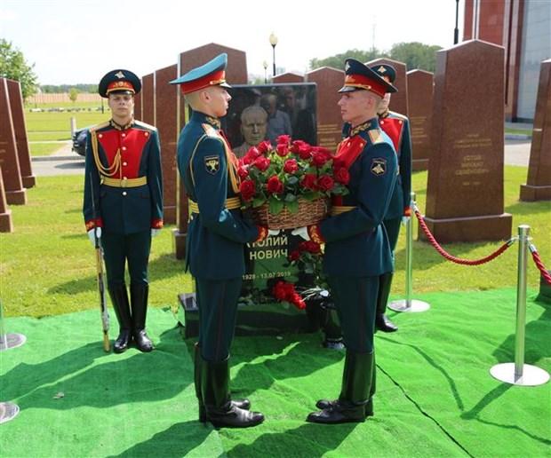 俄罗斯推崇为越南抗美救国事业作出巨大贡献的Anatoly Khiupenen上将 hinh anh 1