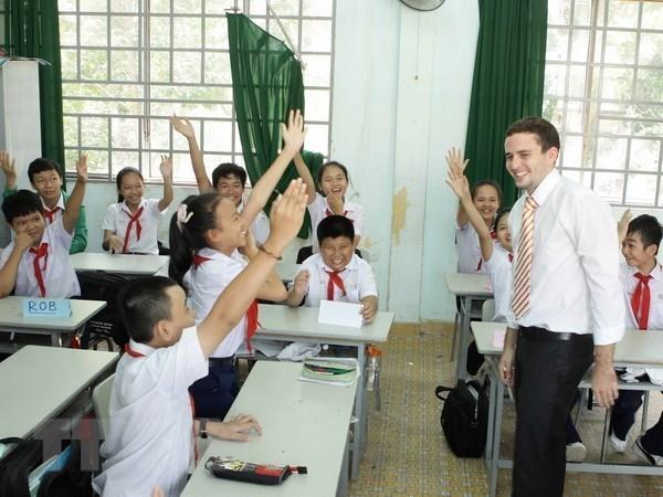 美国派遣志愿者赴越南任教英语 hinh anh 1