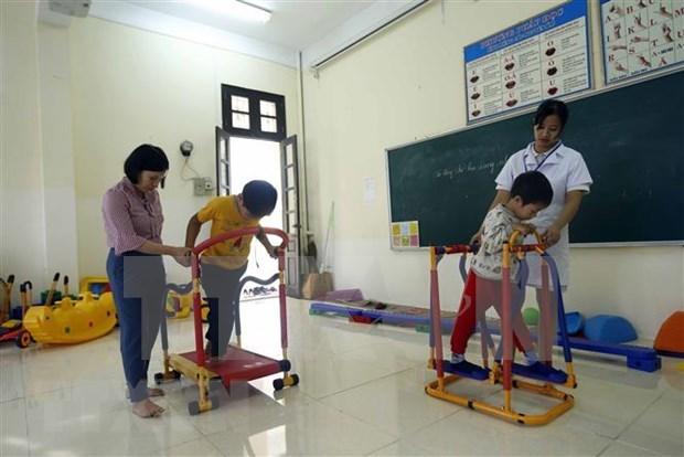 越南政府总理批准残疾人援助计划 hinh anh 1