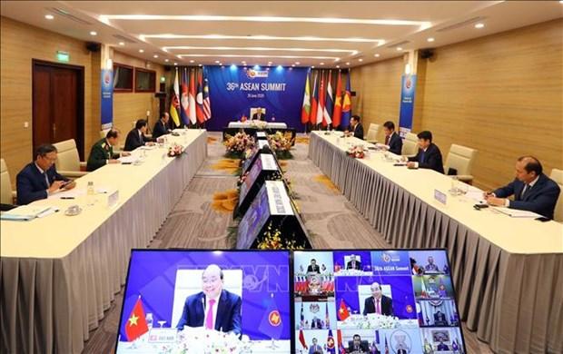 东盟成立53周年:越南努力巩固大团结和统一的东盟关系 hinh anh 2