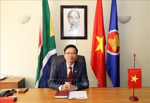 2020东盟轮值主席国:促进南非与东盟共同体的合作 为双方带来共同利益 hinh anh 1