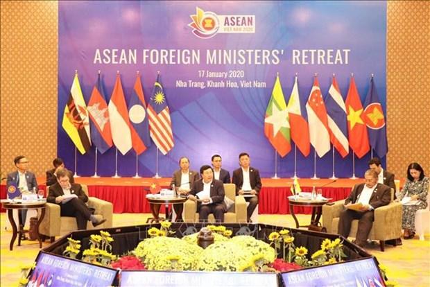 东盟外长就维护东南亚和平与稳定的重要性发表联合声明 hinh anh 1