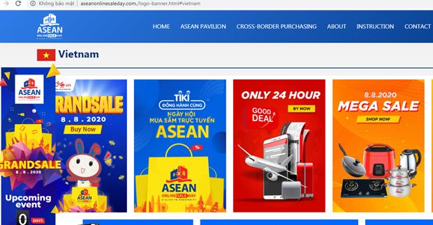 东盟网上购物日正式启动 近150家企业参加 hinh anh 1