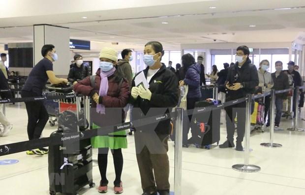 新冠肺炎疫情:将在澳大利亚的逾340名越南公民接回国 hinh anh 1