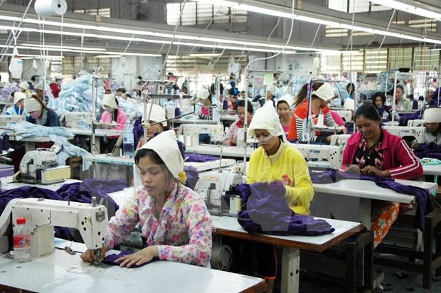 柬埔寨准备为制衣制鞋业制定五年发展策略 hinh anh 1