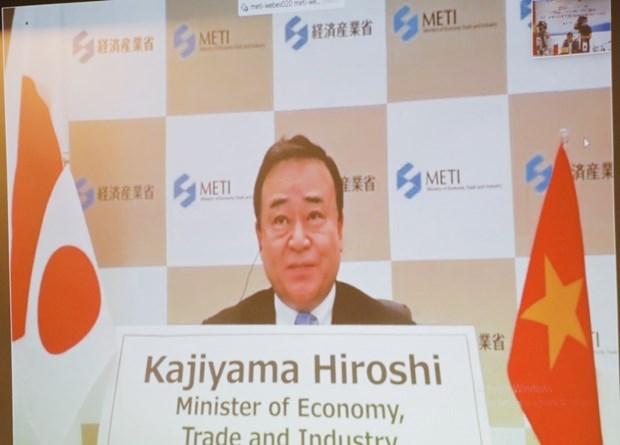 越南与日本促进贸易、工业和能源领域的合作 hinh anh 2