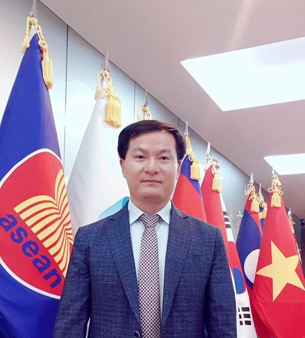 东盟成立53周年:东盟与伙伴国的关系不断向纵深发展 hinh anh 1