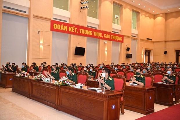 越南人民军代表团出征参加2020年国际军事比赛 hinh anh 2