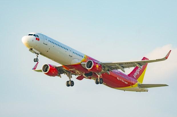 越捷计划将被困在岘港市的游客送回河内和胡志明市 hinh anh 2