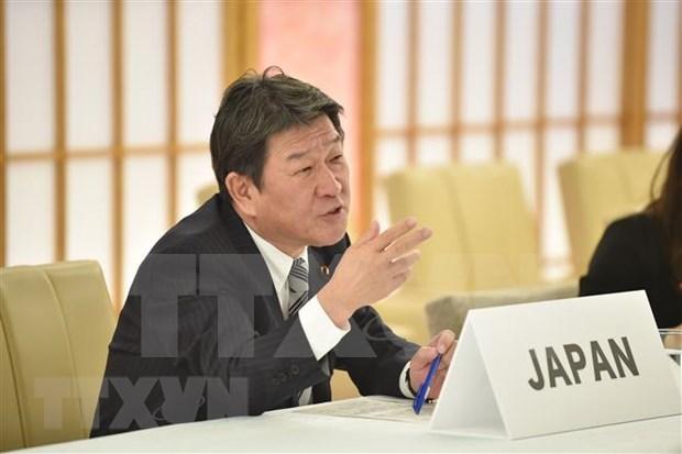 日本外务大臣对新加坡进行正式访问 hinh anh 1