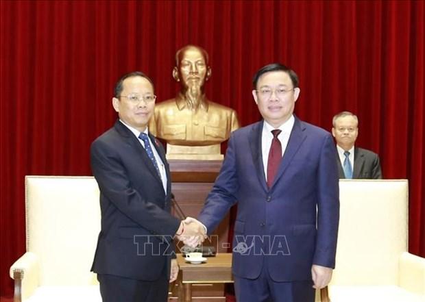 河内推进与柬埔寨各地投资合作 hinh anh 1