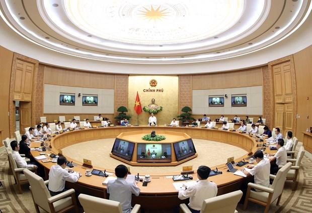 阮春福总理主持召开政府立法工作专题会议 hinh anh 2