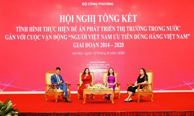 越南货在各大型分销系统上占有相当大的比重 hinh anh 1
