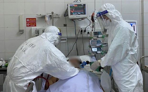 越南新增一例新冠肺炎死亡病例 累计死亡病例18例 hinh anh 1