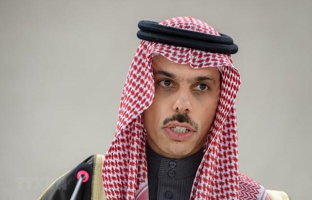 范平明与沙特阿拉伯外交大臣费萨尔通电话 hinh anh 1