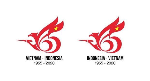 越南设计师获得越印建交65周年标志设计大赛一等奖 hinh anh 1