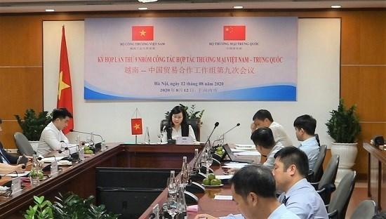越南与中国商讨促进贸易合作的措施 hinh anh 1