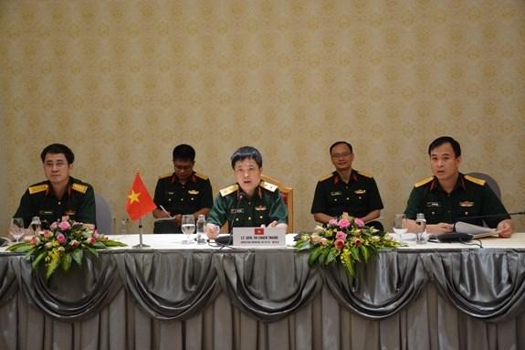 越南与新加坡促进防务合作 hinh anh 1