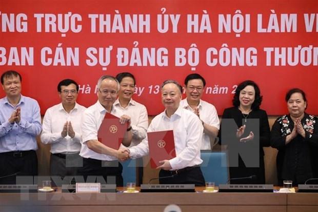 河内市力争成为全国电子商务的先驱者 hinh anh 2