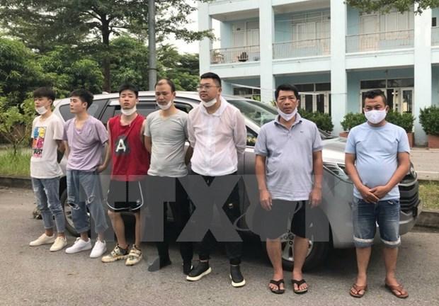 2020年5月至今胡志明市发现非法入境 人数为152人 hinh anh 1