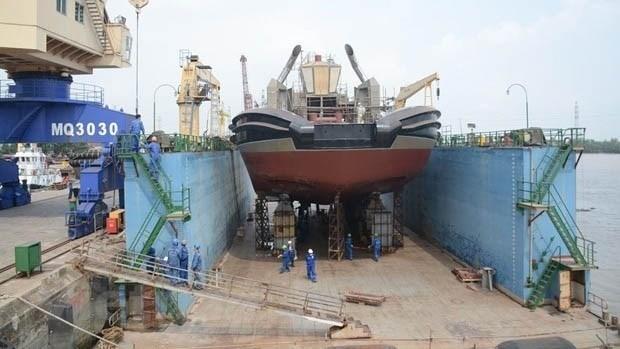 越南现代造船公司的产品远销全球16个国家 hinh anh 1