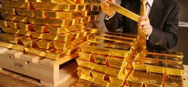 8月18日上午越南国内黄金价格超过5800万越盾一两 hinh anh 1