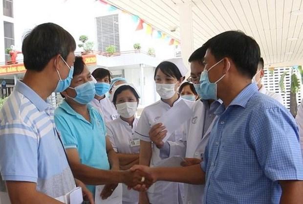 越南政府有力防控新冠肺炎疫情 努力丞救患者 hinh anh 1