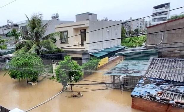 越南北部山区各省市遭特大暴雨洪水袭击 hinh anh 2