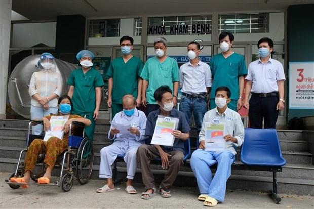 越南新增6例新冠肺炎确诊病例和53例治愈病例 hinh anh 1