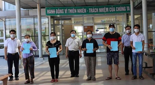 新冠肺炎疫情:广南省新增治愈出院11例 hinh anh 1