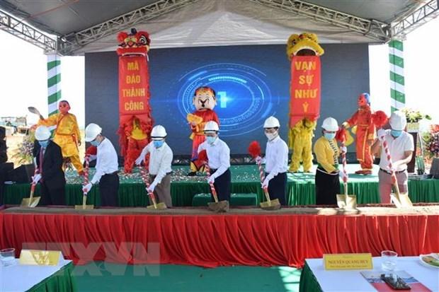 安沛省首个旅游商业都市区破土兴建 hinh anh 1