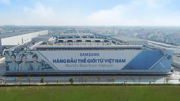 越南仍是三星的全球制造基地 hinh anh 1