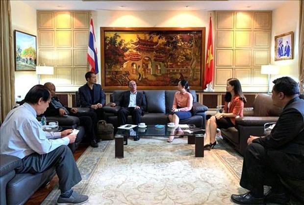 越南和泰国加强动物检疫和兽医领域的合作 hinh anh 1