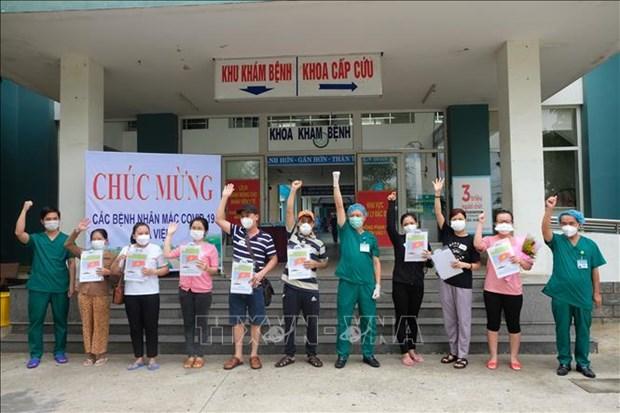 岘港新增本土确诊病例治愈出院10例 hinh anh 1